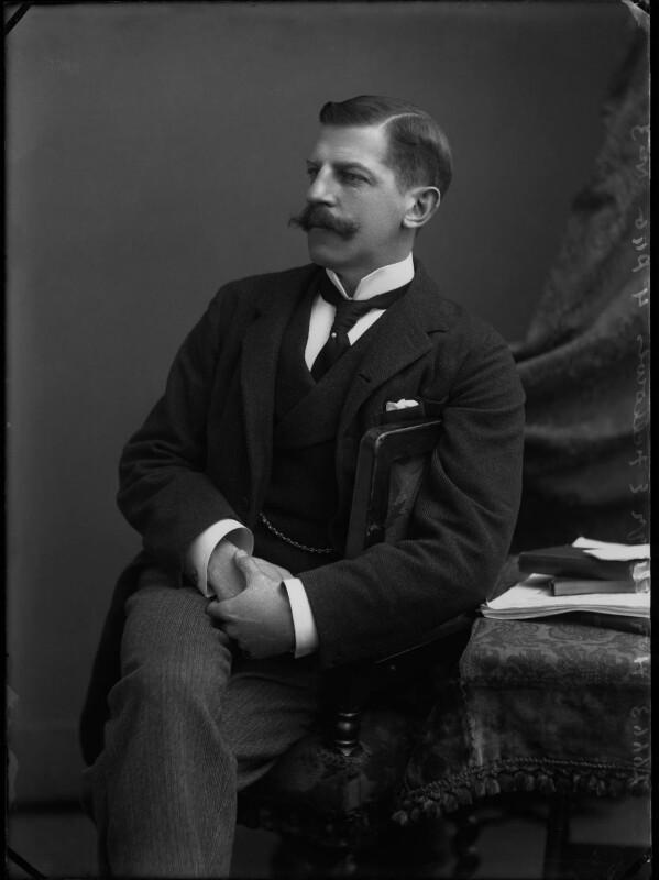 Ailwyn Edward Fellowes, 1st Baron Ailwyn, by Alexander Bassano, 1896 - NPG x30582 - © National Portrait Gallery, London