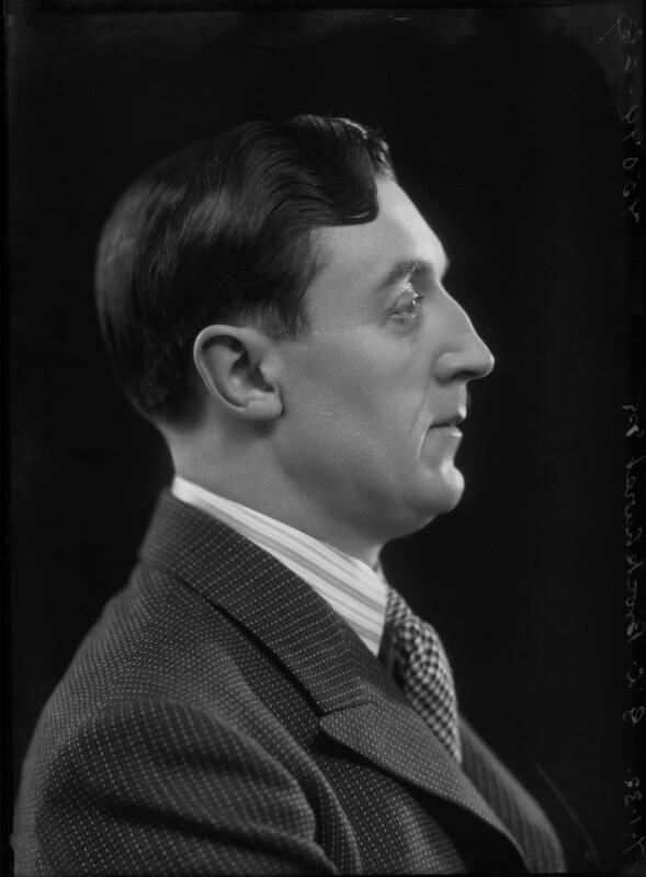 Gerald Leslie Brockhurst, by Bassano Ltd, 7 January 1932 - NPG x30722 - © National Portrait Gallery, London