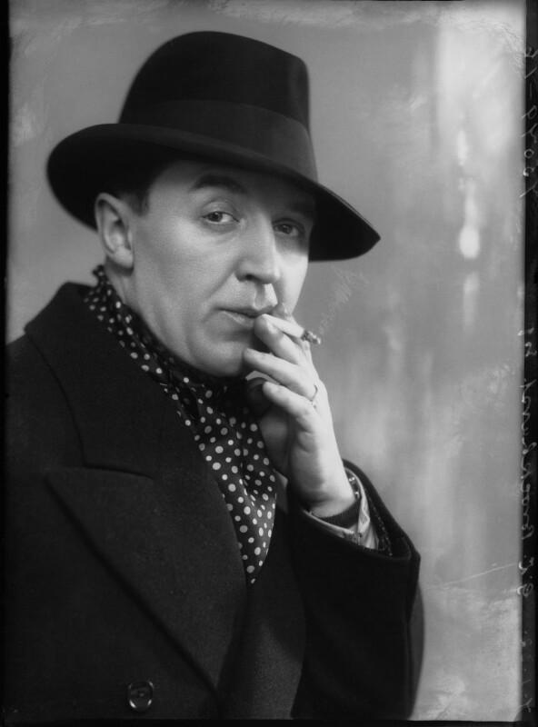 Gerald Leslie Brockhurst, by Bassano Ltd, 7 January 1932 - NPG x30723 - © National Portrait Gallery, London