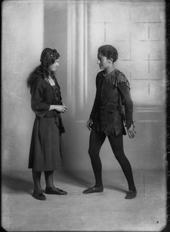 Mary Casson as Wendy; Jean Forbes-Robertson as Peter Pan in 'Peter Pan', by Bassano Ltd, 14 January 1932 - NPG x30724 - © National Portrait Gallery, London