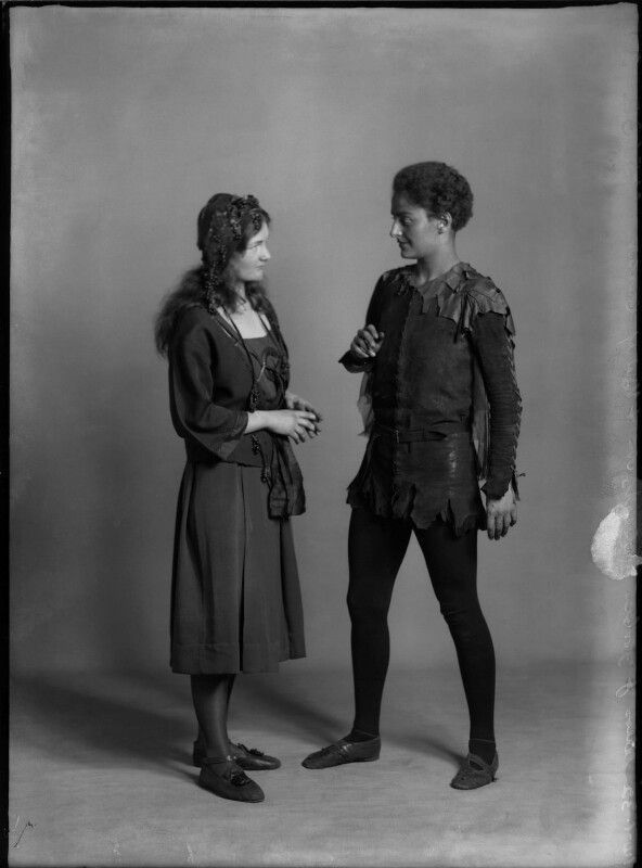 Mary Casson as Wendy; Jean Forbes-Robertson as Peter Pan in 'Peter Pan', by Bassano Ltd, 14 January 1932 - NPG x30725 - © National Portrait Gallery, London