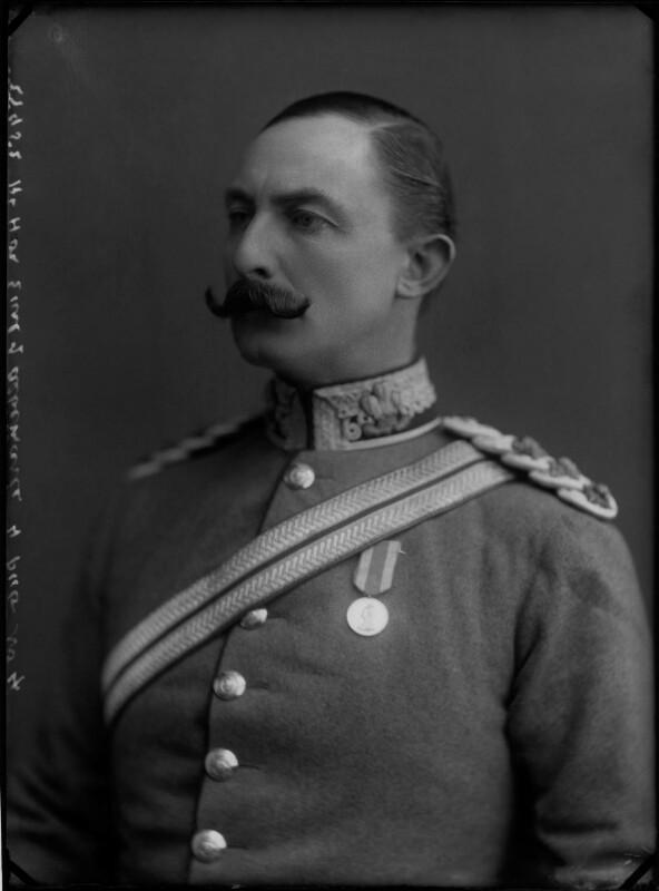 Arnold Allan Keppel, 8th Earl of Albemarle, by Alexander Bassano, 1897 - NPG x30765 - © National Portrait Gallery, London