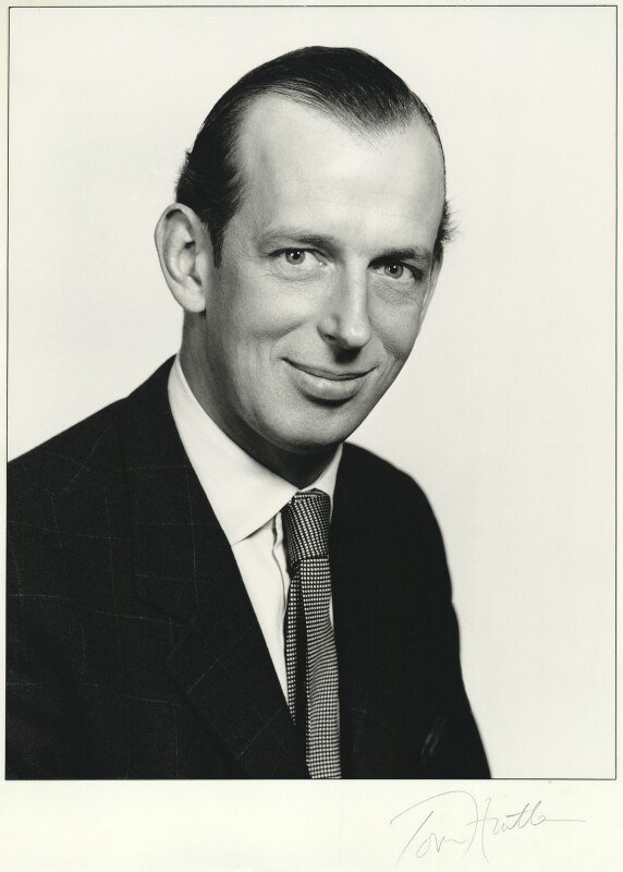 Prince Edward George Nicholas Paul Patrick, Duke of Kent, by Tom Hustler, 1970s - NPG x31048 - © William Hustler and Georgina Hustler / National Portrait Gallery, London