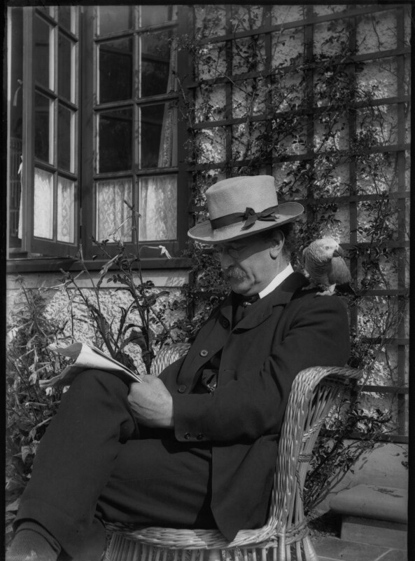 Sir Emery Walker, by Unknown photographer, 1920-1933 - NPG x31052 - © National Portrait Gallery, London