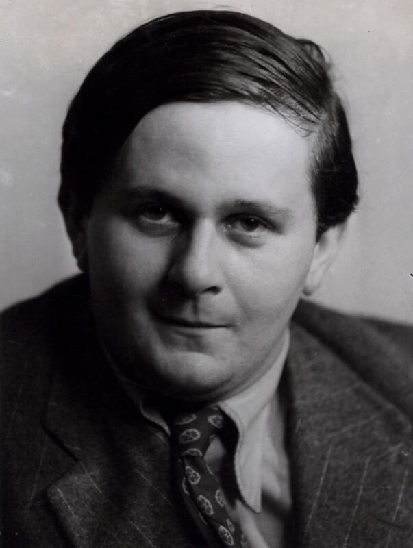 Hugh Sykes Davies, by Ramsey & Muspratt, 1930s - NPG x31079 - © Peter Lofts Photography / National Portrait Gallery, London