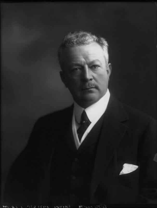 Sir Abe Bailey, 1st Bt, by Bassano Ltd, 30 June 1911 - NPG x31101 - © National Portrait Gallery, London