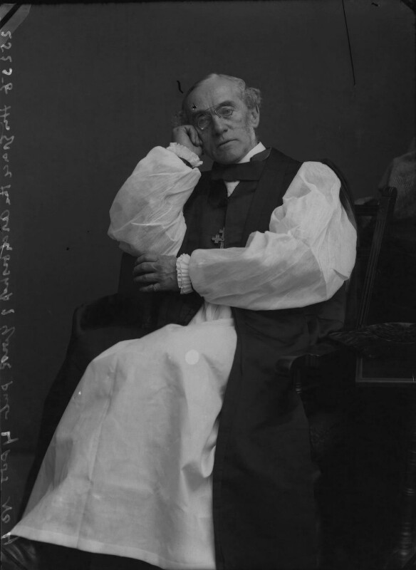 William Dalrymple Maclagan, by Alexander Bassano, 1895 - NPG x31275 - © National Portrait Gallery, London