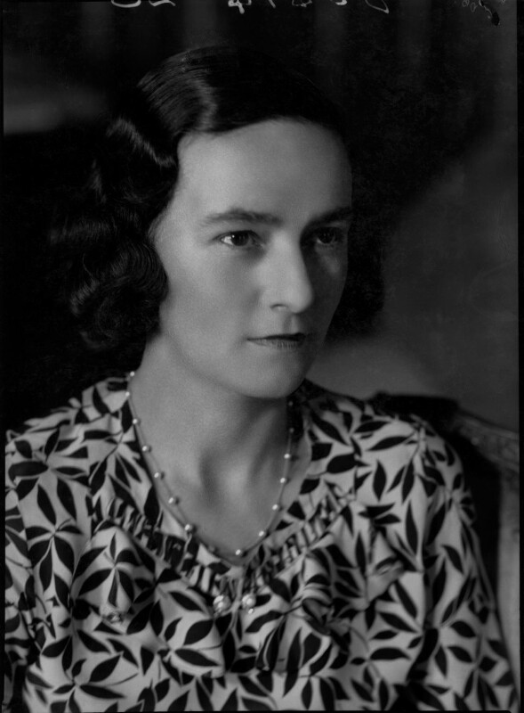 Eileen Laura Sargent (née Harding Horne), by Bassano Ltd, 22 June 1938 - NPG x31373 - © National Portrait Gallery, London