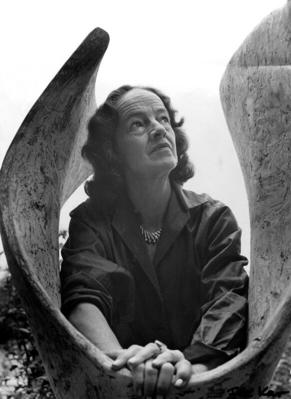 Barbara Hepworth, by Ida Kar, 1961 - NPG x88514 - © National Portrait Gallery, London