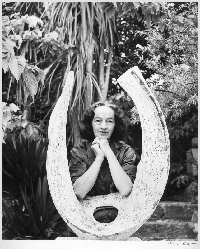 Barbara Hepworth, by Ida Kar, 1961 - NPG x88516 - © National Portrait Gallery, London