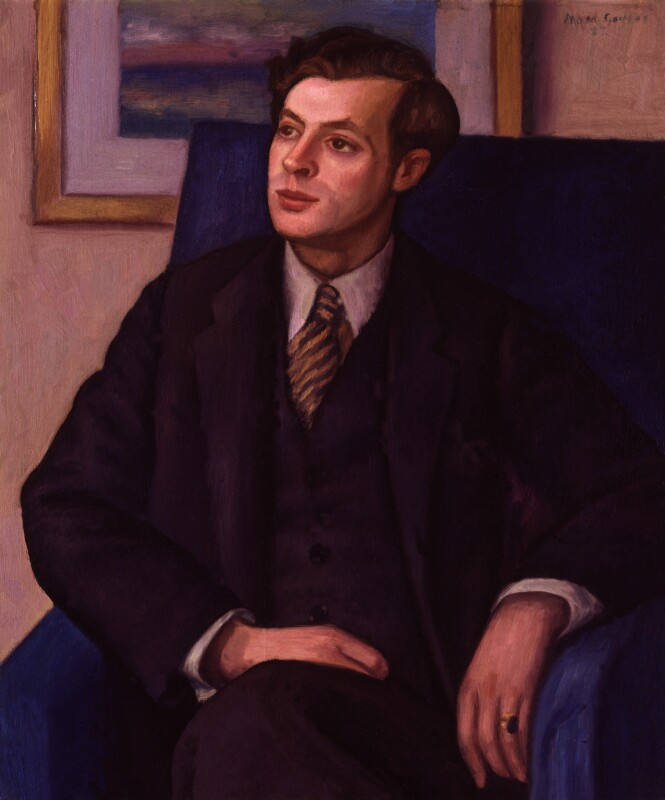 Sir Julian Huxley, by Mark Gertler, 1927 - NPG 6534 - © National Portrait Gallery, London