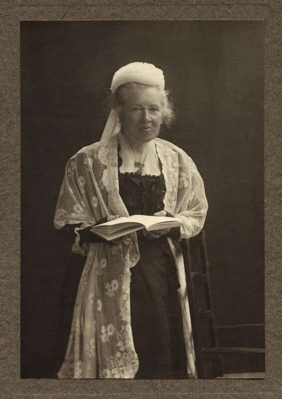 Elizabeth Garrett Anderson, by (Mary) Olive Edis (Mrs Galsworthy), 1909-1910 - NPG x317 - © National Portrait Gallery, London