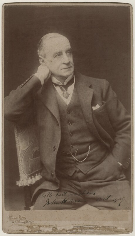Sir John Hare, by Window & Grove, 1906-1913 - NPG x31827 - © National Portrait Gallery, London
