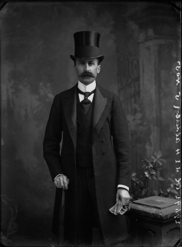 Sir Edwin Alfred Hervey Alderson, by Alexander Bassano, 1899 - NPG x31933 - © National Portrait Gallery, London