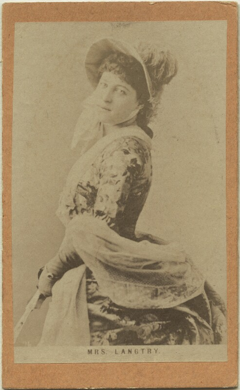 Lillie Langtry, after London Stereoscopic & Photographic Company, circa 1881 - NPG x32351 - © National Portrait Gallery, London