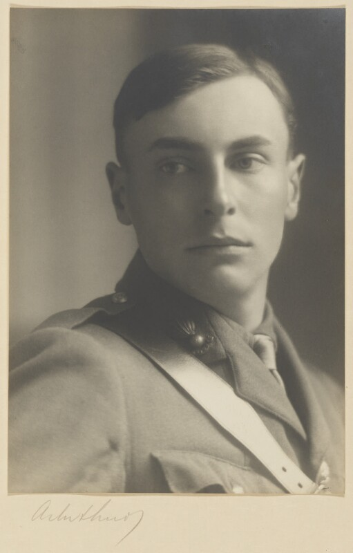 Robert Malise Bowyer Nichols, by Malcolm Arbuthnot, circa 1915 - NPG P785 - © estate of Malcolm Arbuthnot