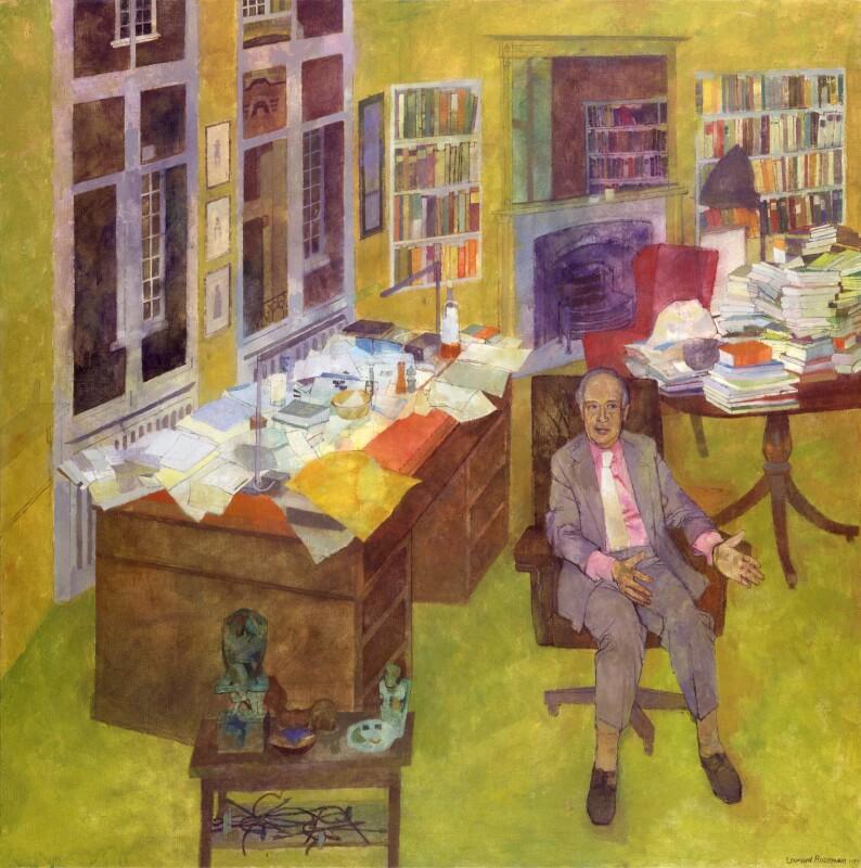André (Andre) Deutsch, by Leonard Rosoman, 1987 - NPG 6535 - © Leonard Henry Rosoman