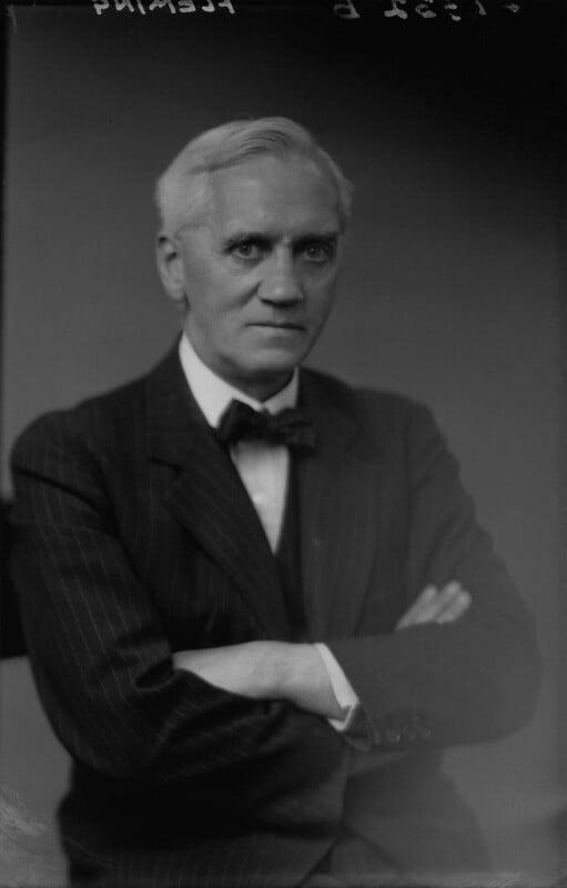 Alexander Fleming, by Walter Stoneman, July 1943 - NPG x32631 - © National Portrait Gallery, London
