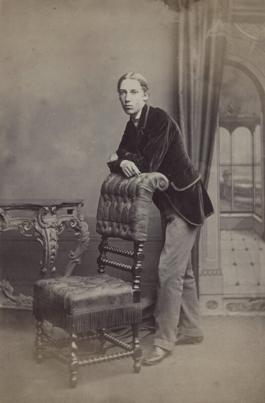 Robert Louis Stevenson, by John Moffat, 1860-1879 - NPG x32721 - © National Portrait Gallery, London