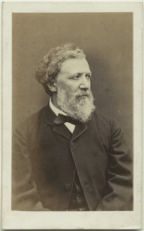 Robert Browning, by William Jeffrey, 1865 - NPG x4821 - © National Portrait Gallery, London