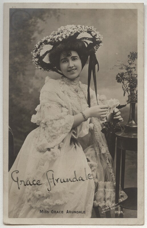 Grace Arundale (née Kelly), by The Biograph Studio, 1900s - NPG x330 - © National Portrait Gallery, London