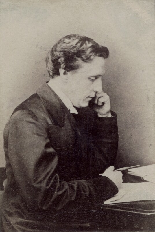 Lewis Carroll, by Hills & Saunders, 1860s - NPG x5181 - © National Portrait Gallery, London