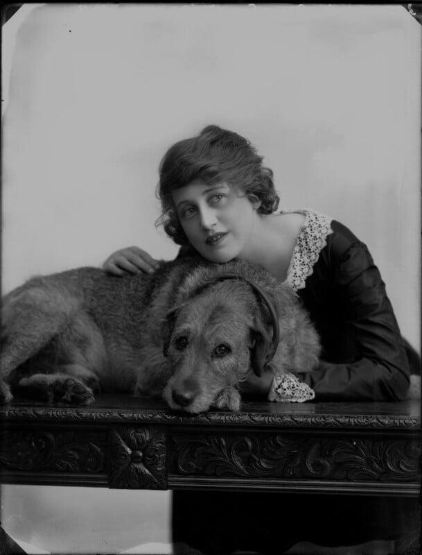 Dorothy Brunton, by Bassano Ltd, 31 August 1918 - NPG x33378 - © National Portrait Gallery, London