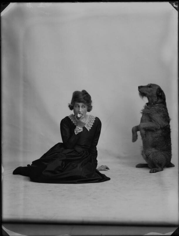Dorothy Brunton, by Bassano Ltd, 31 August 1918 - NPG x33379 - © National Portrait Gallery, London