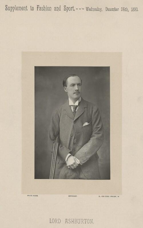 Francis Denzil Edward Baring, 5th Baron Ashburton, by Franz Baum, published 1890 - NPG x334 - © National Portrait Gallery, London