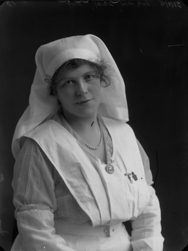 Grace Lowrey (née Woodruff), Lady Ashfield, by Bassano Ltd, 22 February 1918 - NPG x33468 - © National Portrait Gallery, London