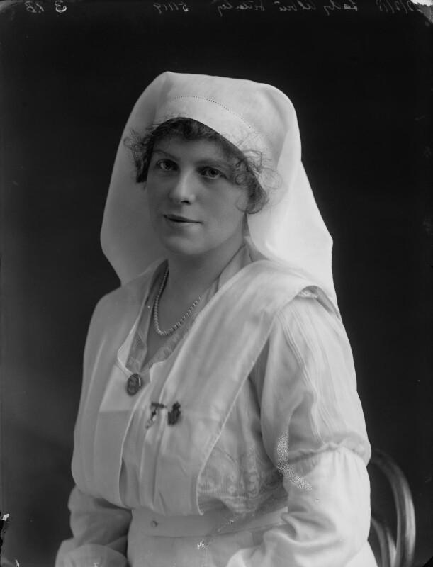 Grace Lowrey (née Woodruff), Lady Ashfield, by Bassano Ltd, 22 February 1918 - NPG x33470 - © National Portrait Gallery, London