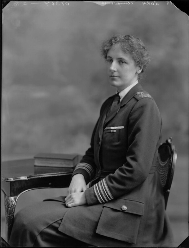 Margaret (née Lygon), Lady Ampthill, by Bassano Ltd, 4 April 1918 - NPG x33473 - © National Portrait Gallery, London