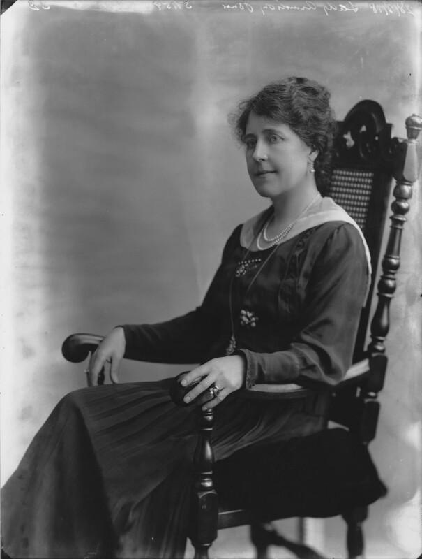 Margaret Elizabeth (née Roberts), Lady Armstrong-Jones, by Bassano Ltd, 28 February 1918 - NPG x33486 - © National Portrait Gallery, London