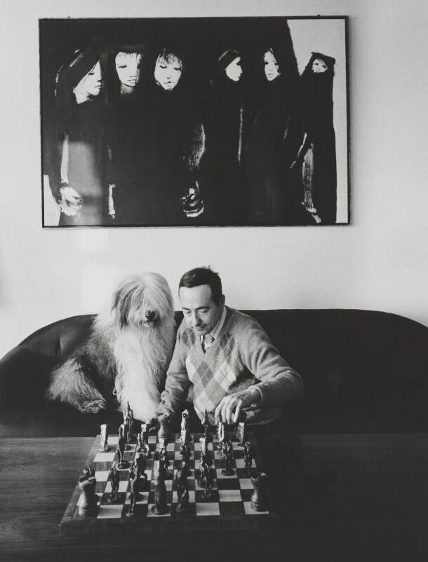 (Francis) George Steiner, by John Hedgecoe, 1977 - NPG P778 - © John Hedgecoe / Topfoto