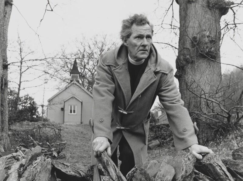 R.S. Thomas, by John Hedgecoe, 1966 - NPG P779 - © John Hedgecoe / Topfoto