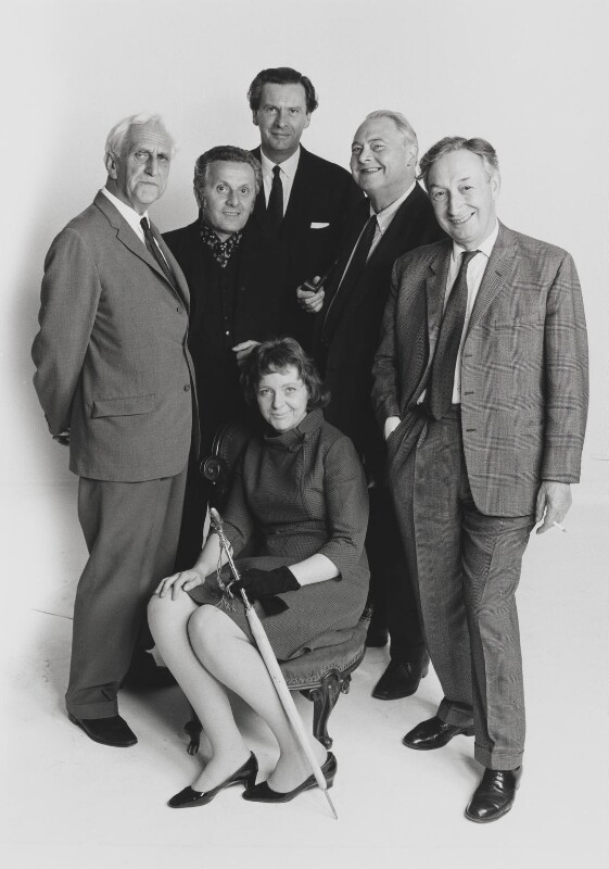The Humanist Society ((Basil) Kingsley Martin; Leo Abse; Ludovic Kennedy; Edward Francis Williams, Baron Francis-Williams; Sir Alfred Jules Ayer; Brigid Antonia Brophy), by John Hedgecoe, 1966 - NPG P782 - © John Hedgecoe / Topfoto