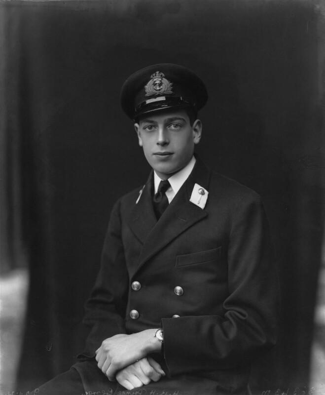 Prince George, Duke of Kent, by Vandyk, 22 January 1921 - NPG x33872 - © National Portrait Gallery, London