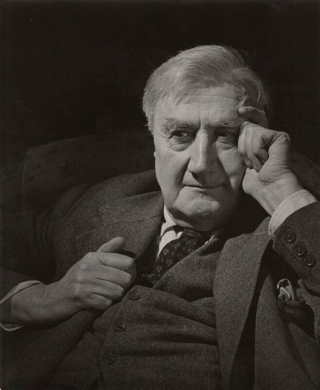 Ralph Vaughan Williams, by Douglas Glass, 7 August 1949 - NPG x33970 - © estate of Douglas Glass