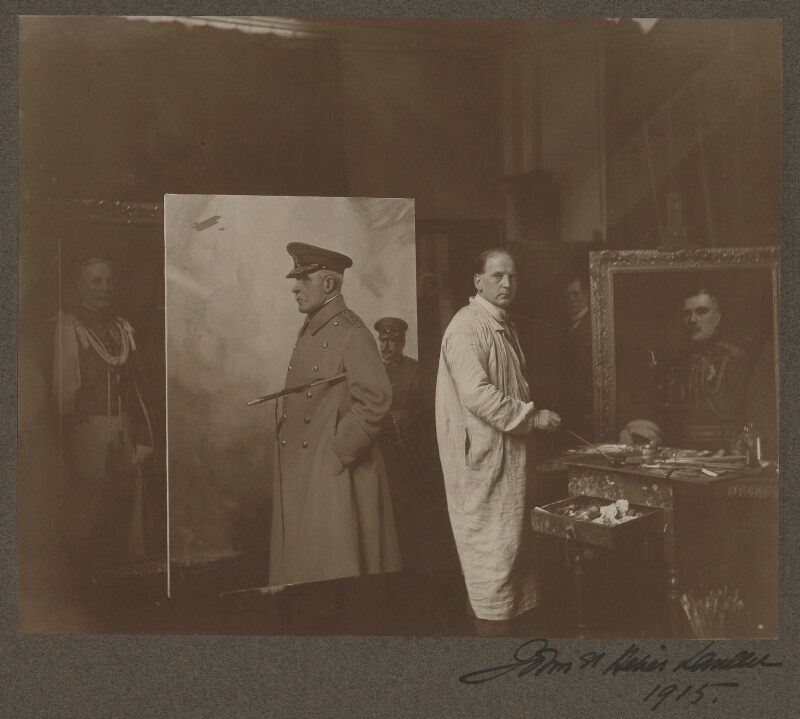 John St Helier Lander, by Paul Laib, 1915 - NPG x132844 - The de Laslzo Collection of Paul Laib Negatives, Witt Library, The Courtauld Institute of Art, London © The de Laslzo Foundation