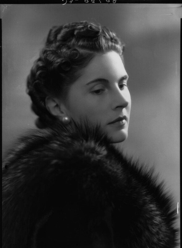 Lady Alexandra Henrietta Louisa Haig (later Alexandra Trevor-Roper, Lady Dacre), by Bassano Ltd, 24 April 1939 - NPG x34196 - © National Portrait Gallery, London