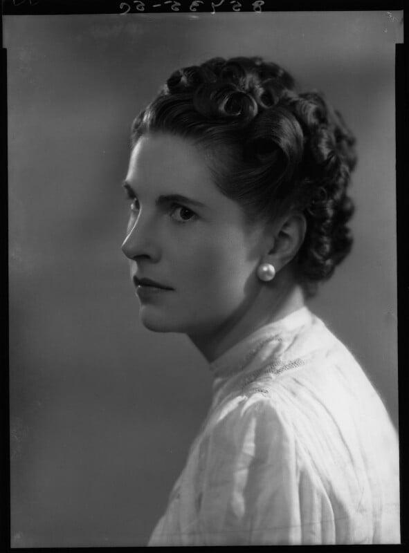 Lady Alexandra Henrietta Louisa Haig (later Alexandra Trevor-Roper, Lady Dacre), by Bassano Ltd, 24 April 1939 - NPG x34197 - © National Portrait Gallery, London