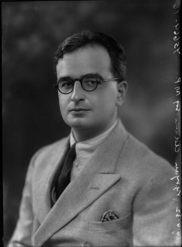 (Samuel) Vyvyan Trerice Adams, by Bassano Ltd, 16 June 1932 - NPG x34217 - © National Portrait Gallery, London