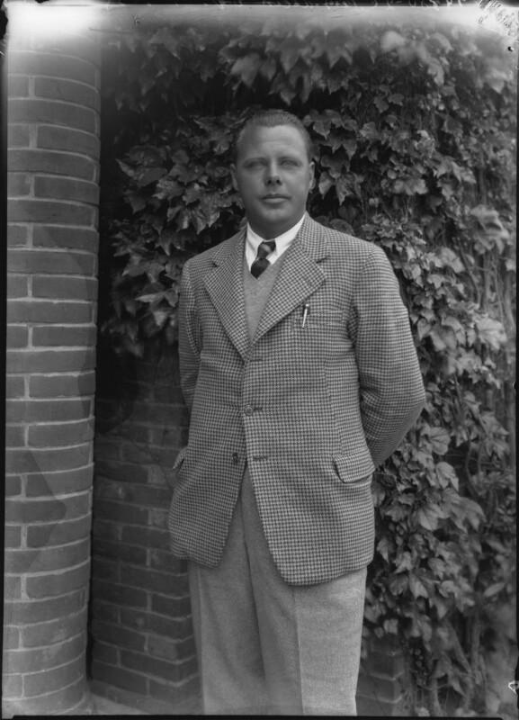 Percy Allis, by Bassano Ltd, 1 July 1935 - NPG x34219 - © National Portrait Gallery, London