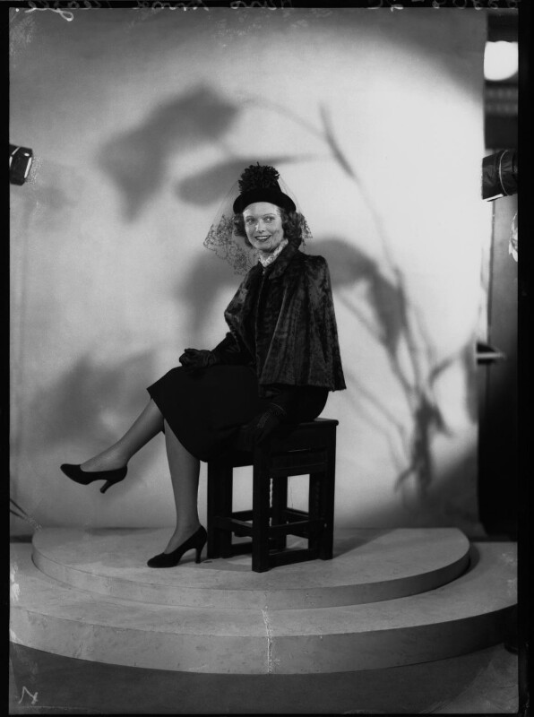 Anna Neagle, by Bassano Ltd, 1938 - NPG x34226 - © National Portrait Gallery, London