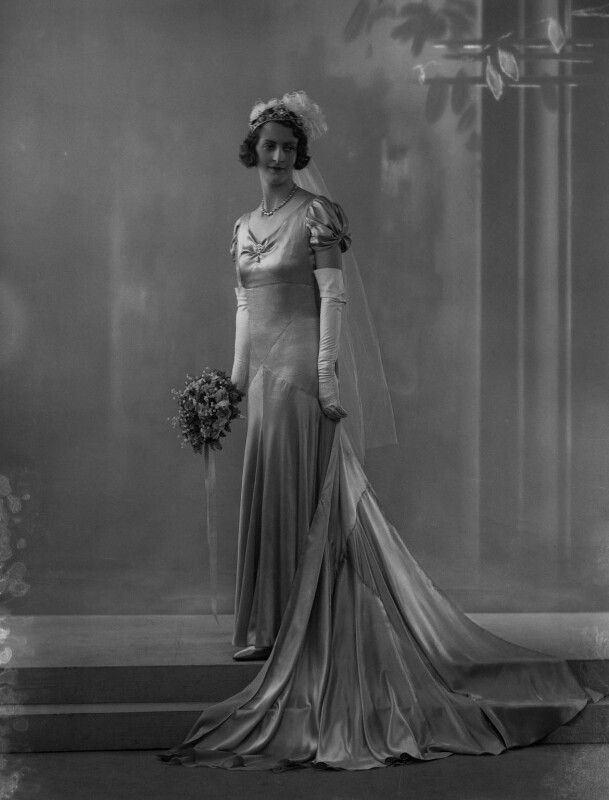 Margaret Mary Clare (née Wilberforce), Lady Illingworth, by Bassano Ltd, 11 May 1932 - NPG x34458 - © National Portrait Gallery, London