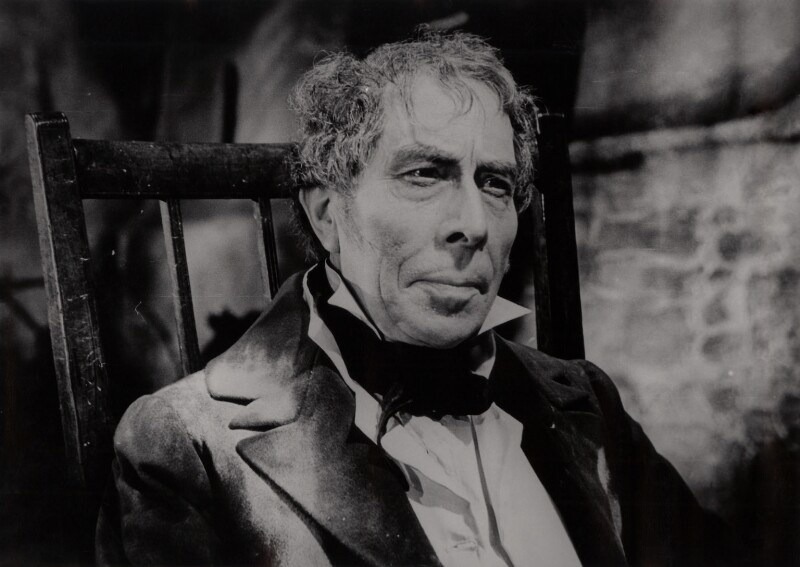 George Arliss as the Duke of Wellington on the set of 'The Iron Duke', by Unknown photographer, 1934 - NPG x34570 - © National Portrait Gallery, London