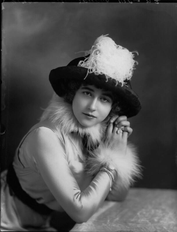 Yvonne Arnaud, by Bassano Ltd, November 1912 - NPG x34942 - © National Portrait Gallery, London