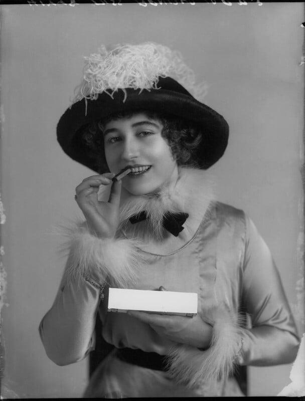 Yvonne Arnaud, by Bassano Ltd, November 1912 - NPG x34943 - © National Portrait Gallery, London