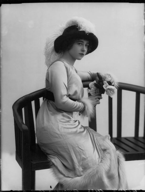 Yvonne Arnaud, by Bassano Ltd, November 1912 - NPG x34944 - © National Portrait Gallery, London