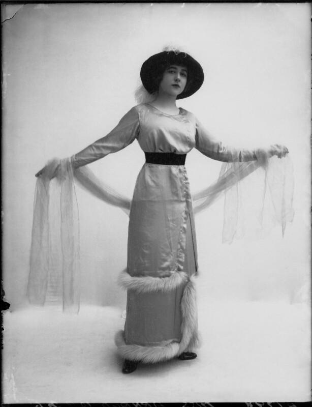 Yvonne Arnaud, by Bassano Ltd, November 1912 - NPG x34946 - © National Portrait Gallery, London